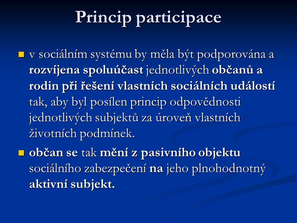 Princip participace