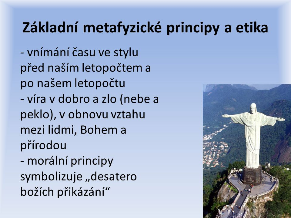 Základní metafyzické principy a etika