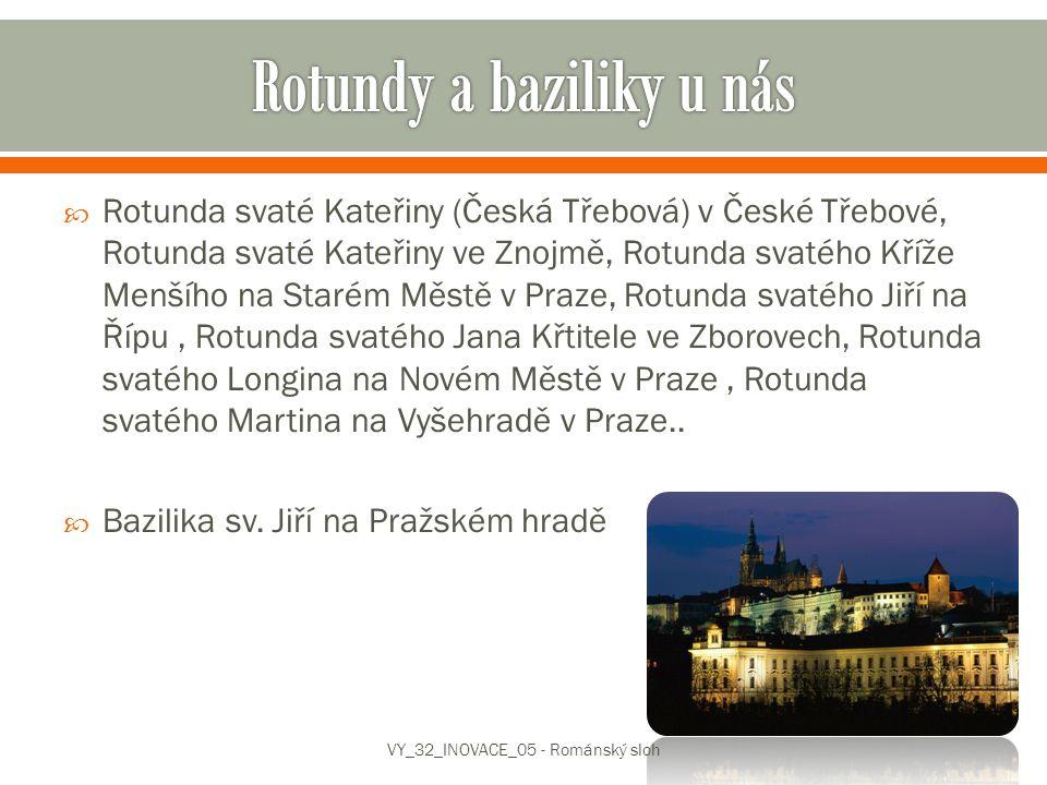 Rotundy a baziliky u nás