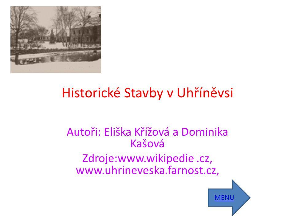Historické Stavby v Uhříněvsi