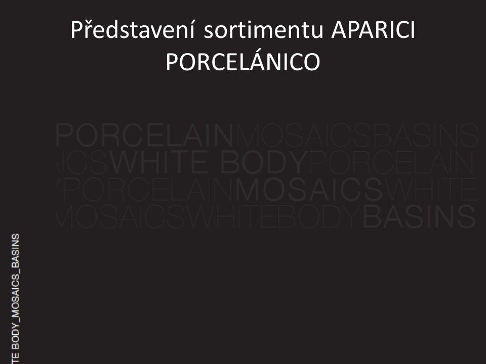 Představení sortimentu APARICI PORCELÁNICO