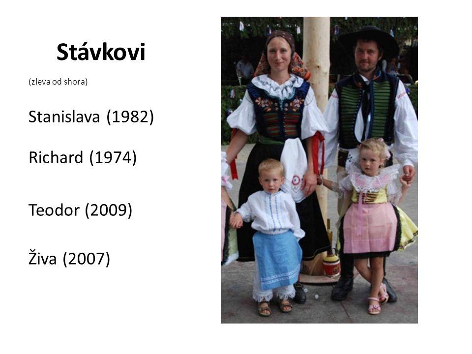 Stávkovi Stanislava (1982) Richard (1974) Teodor (2009) Živa (2007)