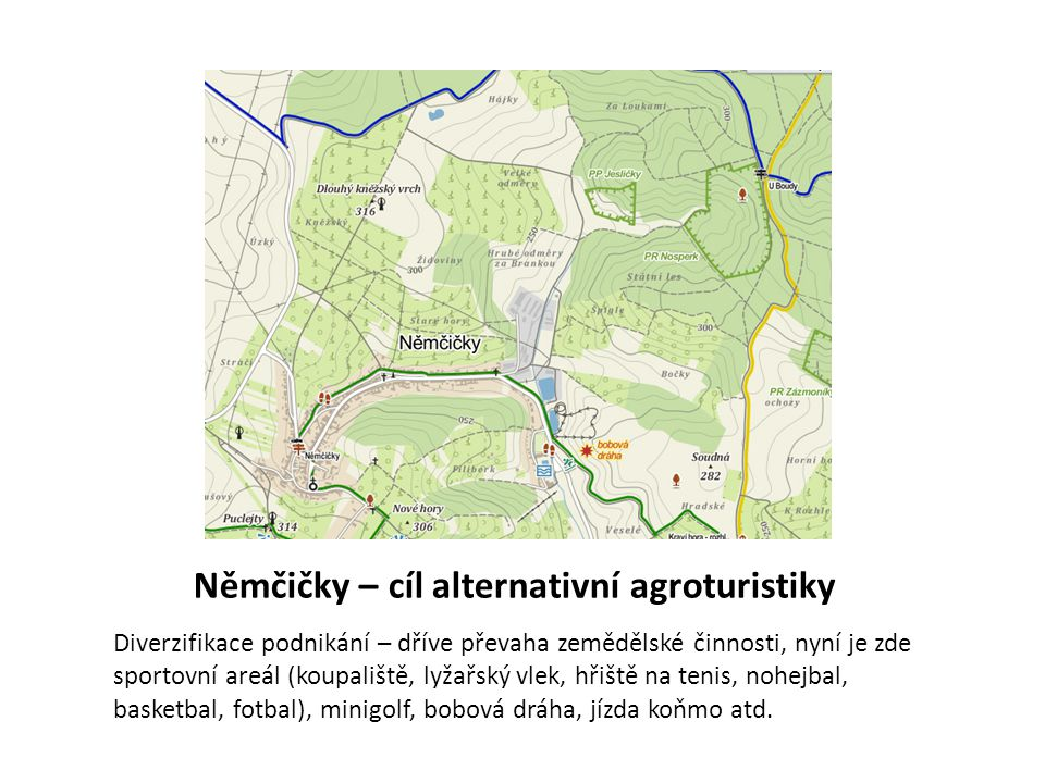 Němčičky – cíl alternativní agroturistiky