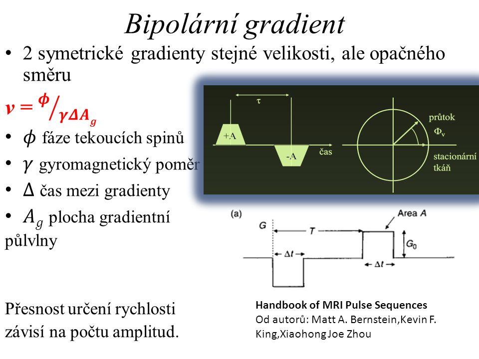 Bipolární gradient v = 𝝓 𝜸𝜟𝑨𝒈