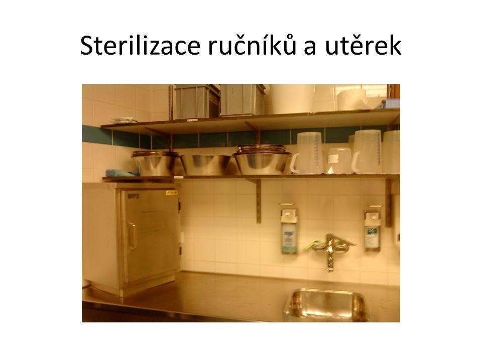 Sterilizace ručníků a utěrek