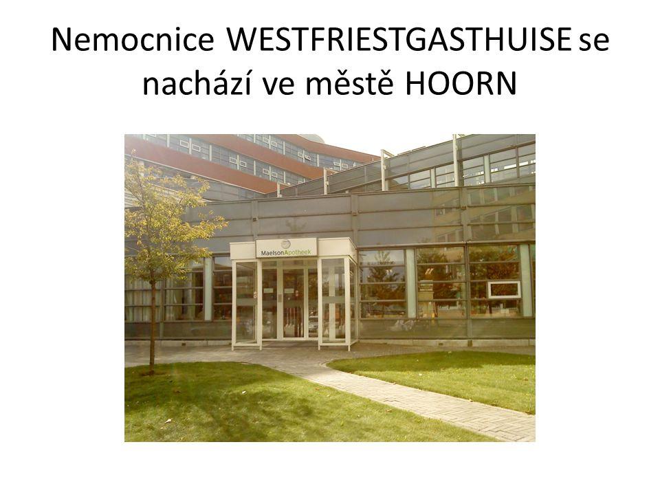 Nemocnice WESTFRIESTGASTHUISE se nachází ve městě HOORN