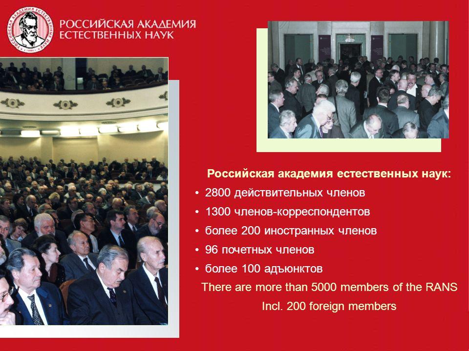 Российская академия естественных наук: