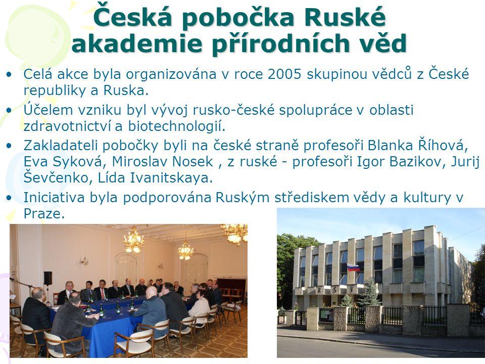 Česká pobočka Ruské akademie přírodních věd