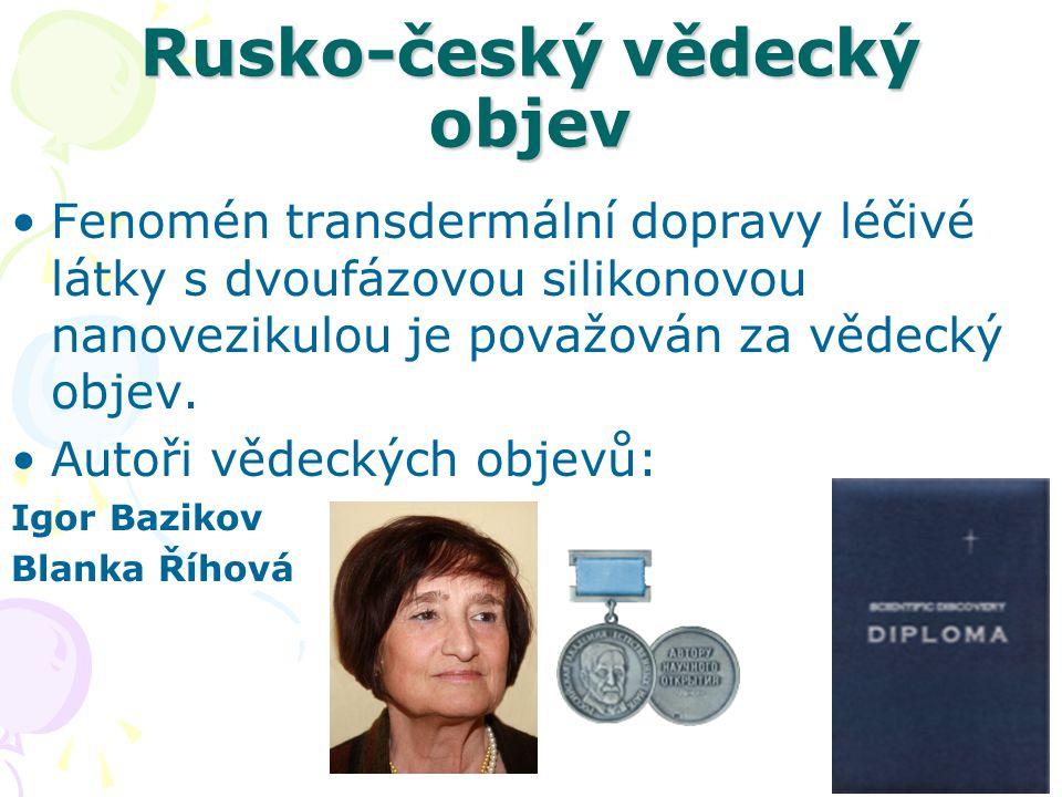 Rusko-český vědecký objev