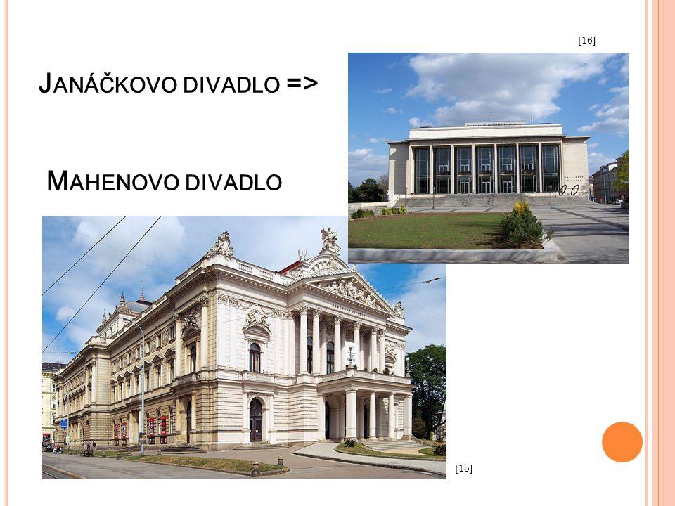 Janáčkovo divadlo => Mahenovo divadlo