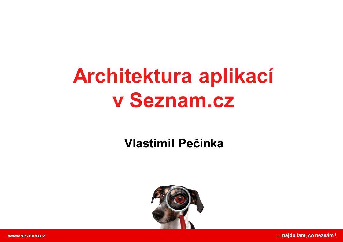 Architektura aplikací v Seznam.cz