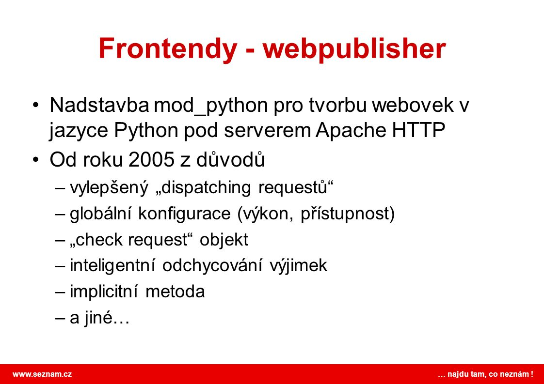 Frontendy - webpublisher