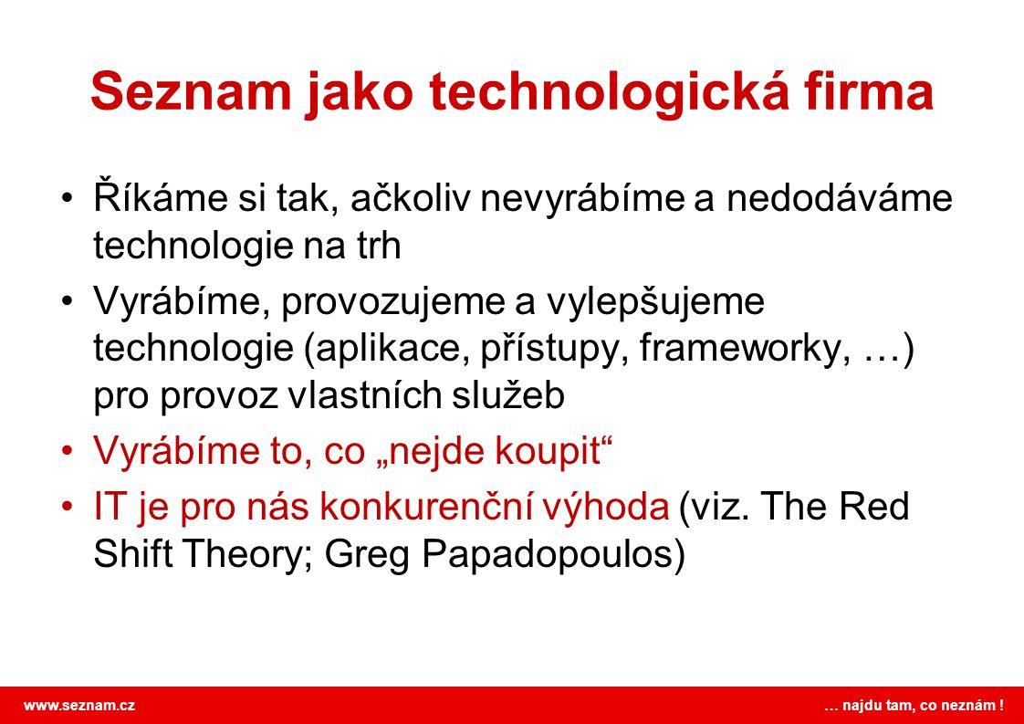 Seznam jako technologická firma