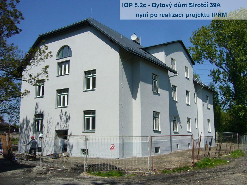 IOP 5.2c - Bytový dům Sirotčí 39A