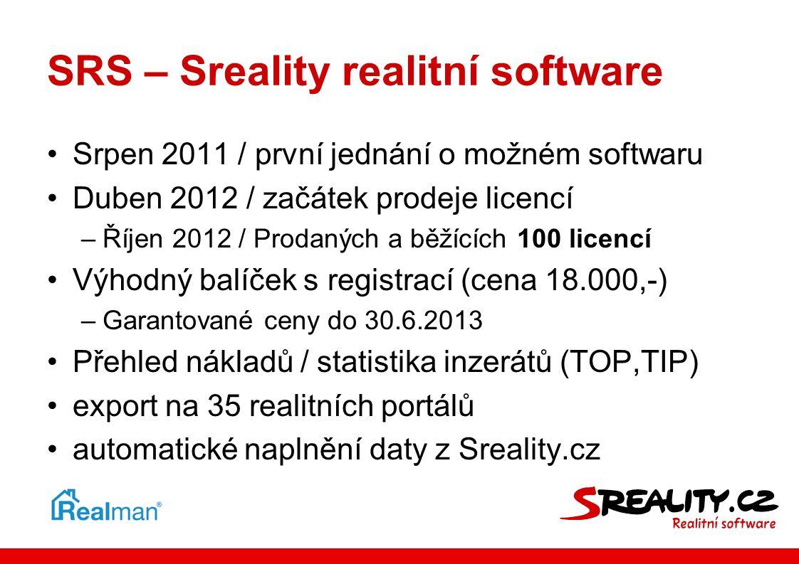 SRS – Sreality realitní software