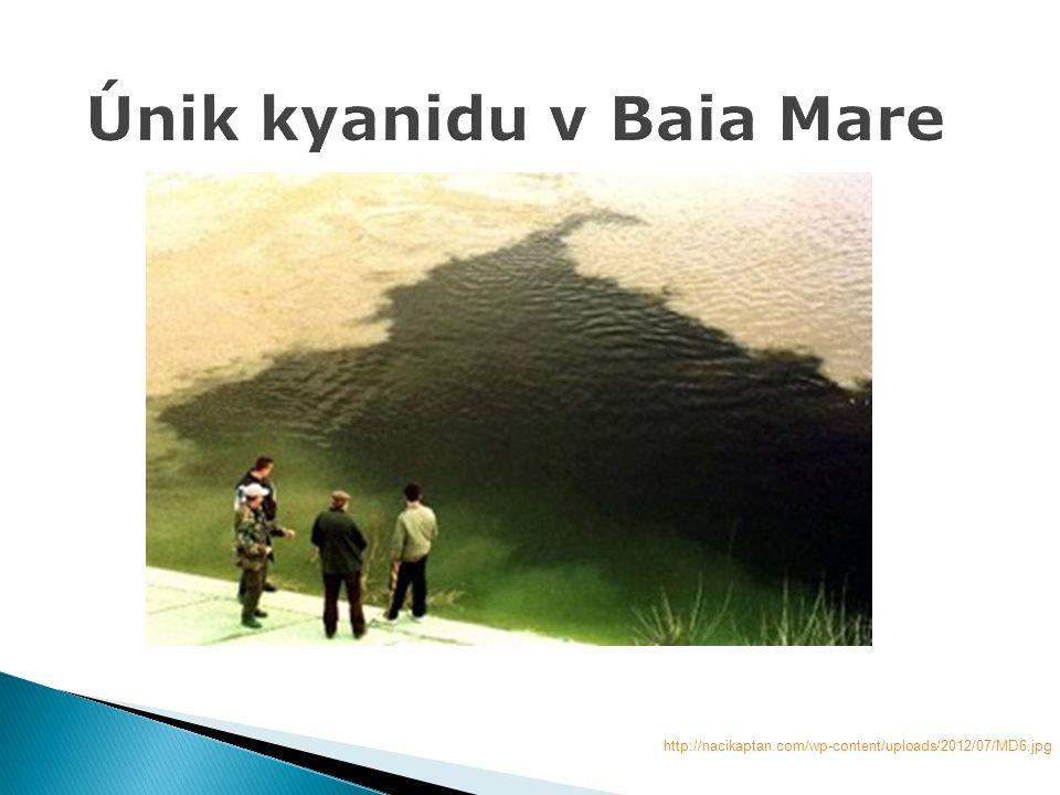Únik kyanidu v Baia Mare