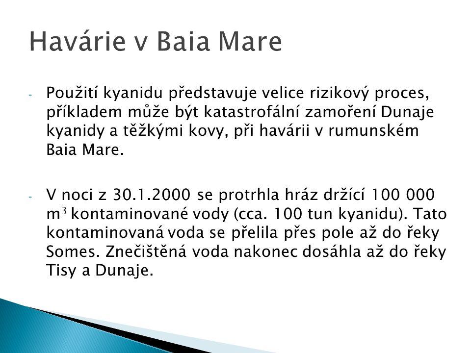 Havárie v Baia Mare