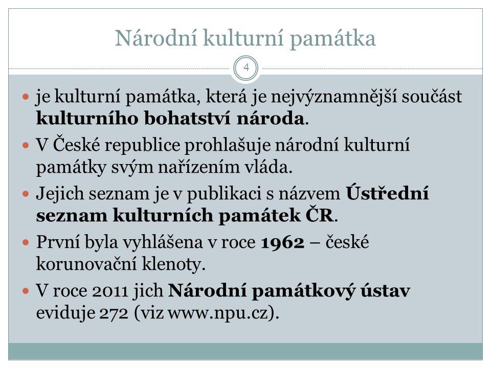 Národní kulturní památka
