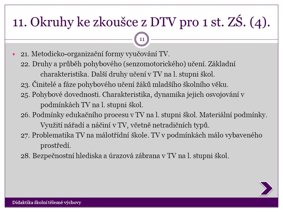 11. Okruhy ke zkoušce z DTV pro 1 st. ZŚ. (4).
