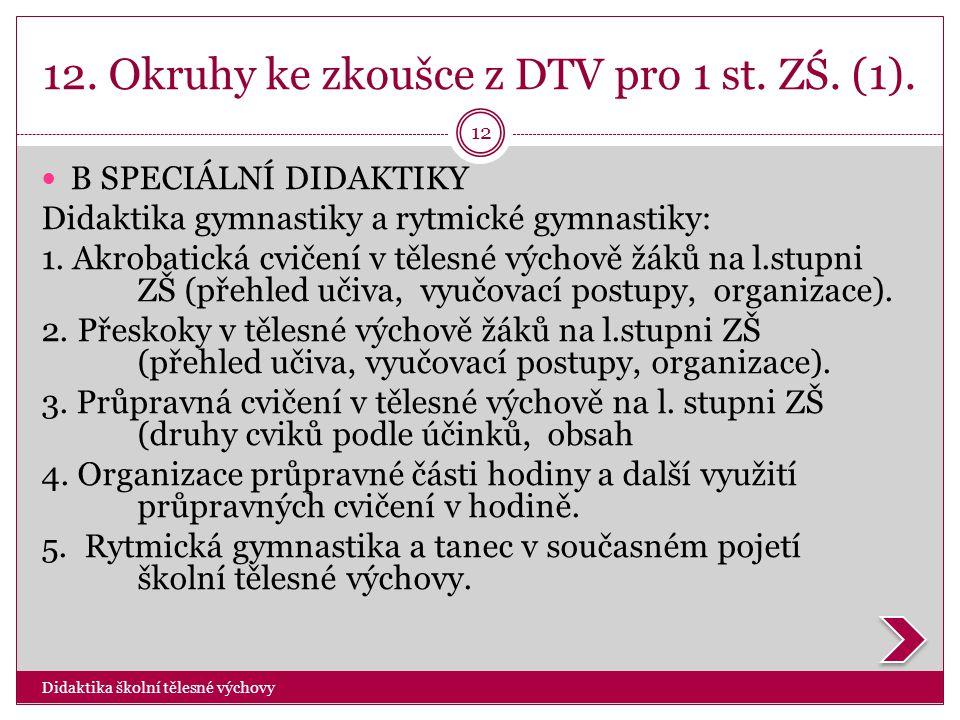 12. Okruhy ke zkoušce z DTV pro 1 st. ZŚ. (1).