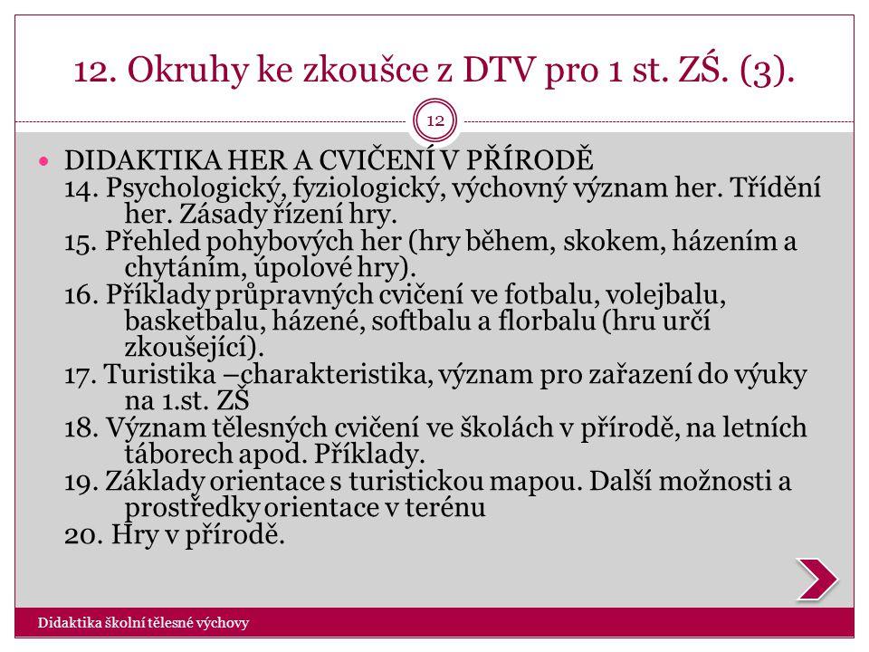 12. Okruhy ke zkoušce z DTV pro 1 st. ZŚ. (3).