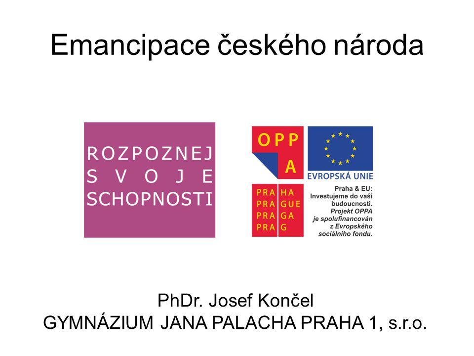 Emancipace českého národa