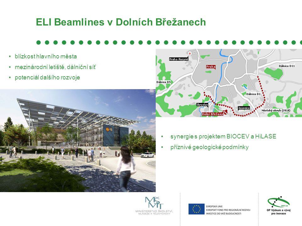 ELI Beamlines v Dolních Břežanech