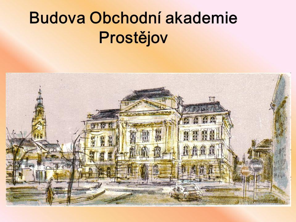 Budova Obchodní akademie Prostějov