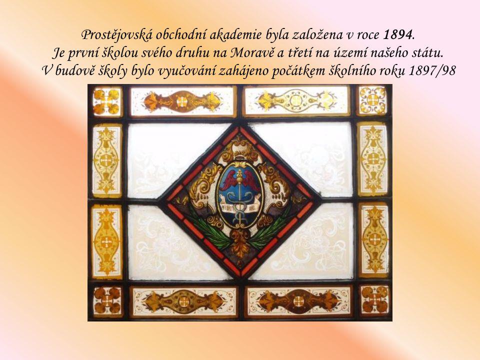 Prostějovská obchodní akademie byla založena v roce 1894
