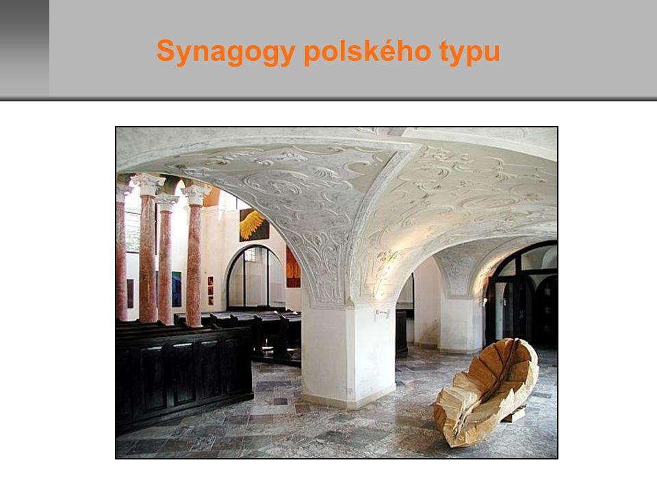 Synagogy polského typu
