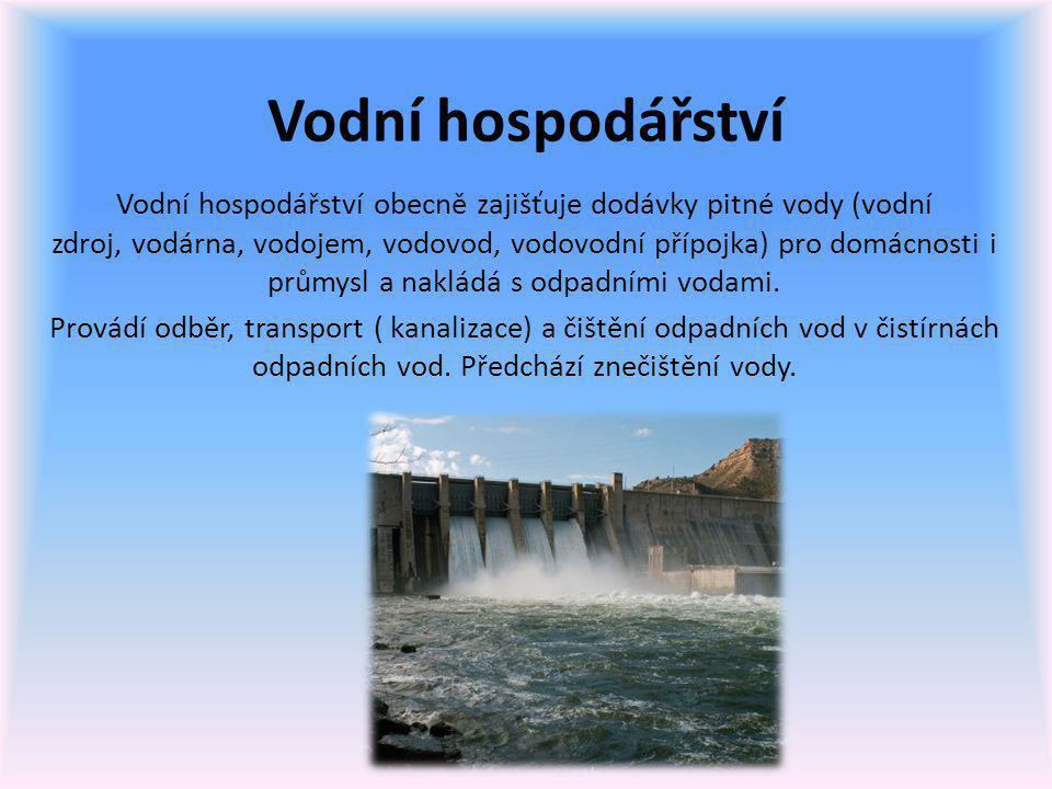 Vodní hospodářství