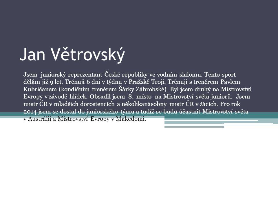 Jan Větrovský
