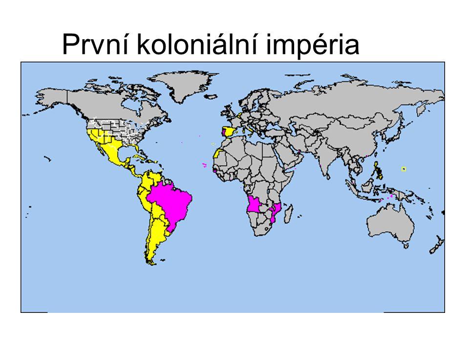 První koloniální impéria