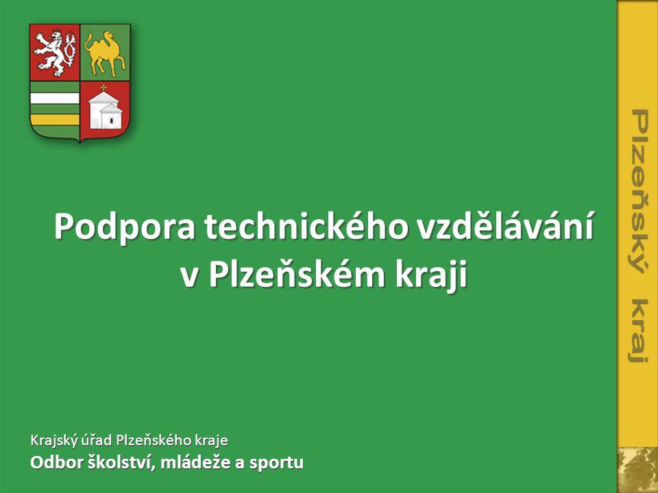 Podpora technického vzdělávání v Plzeňském kraji