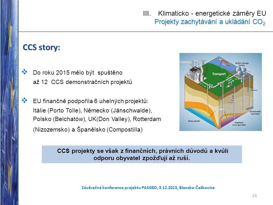 Závěrečná konference projektu PASGEO, 3.12.2013, Blansko-Češkovice