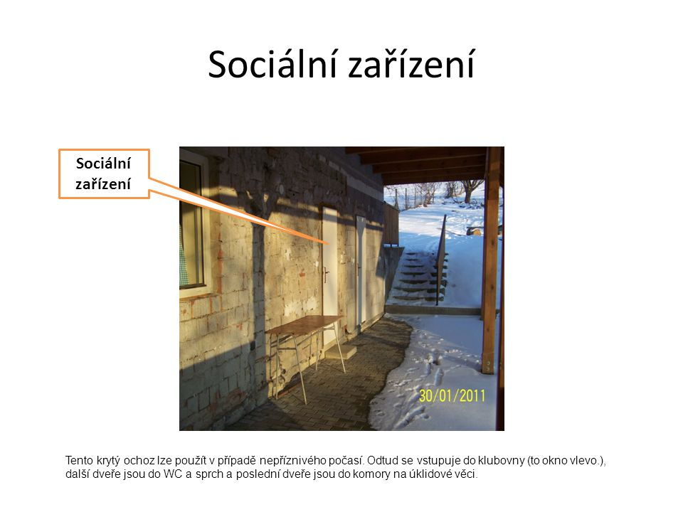 Sociální zařízení Sociální zařízení
