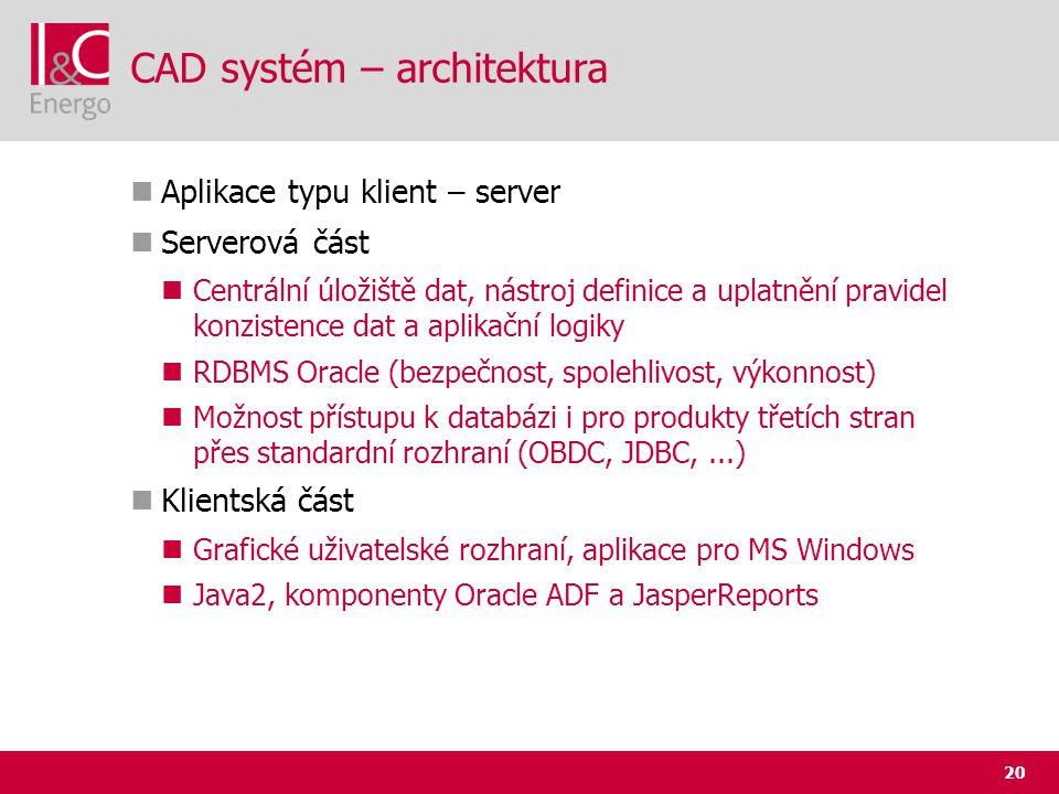 CAD systém – architektura