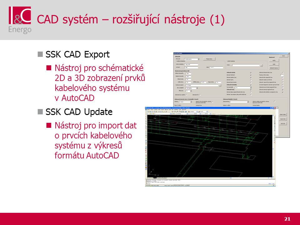 CAD systém – rozšiřující nástroje (1)