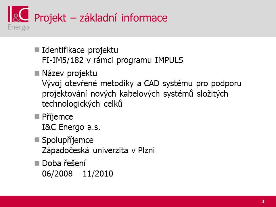 Projekt – základní informace