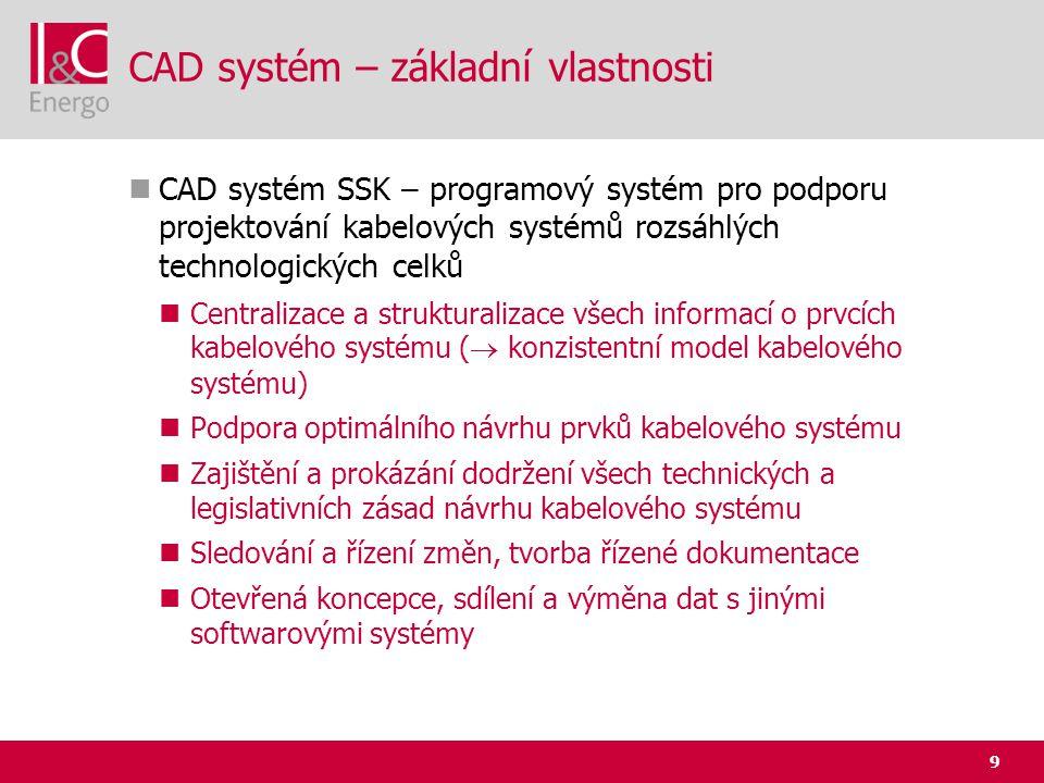 CAD systém – základní vlastnosti