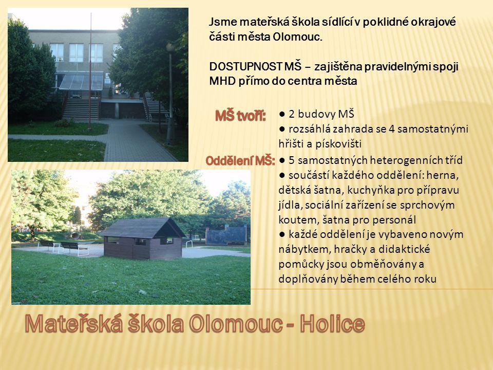 Mateřská škola Olomouc - Holice