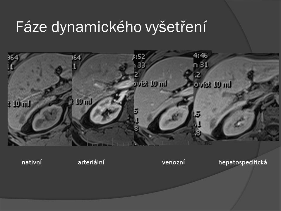 Fáze dynamického vyšetření