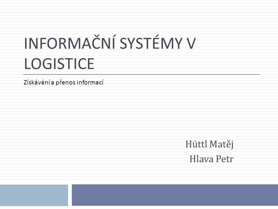 Informační systémy v logistice