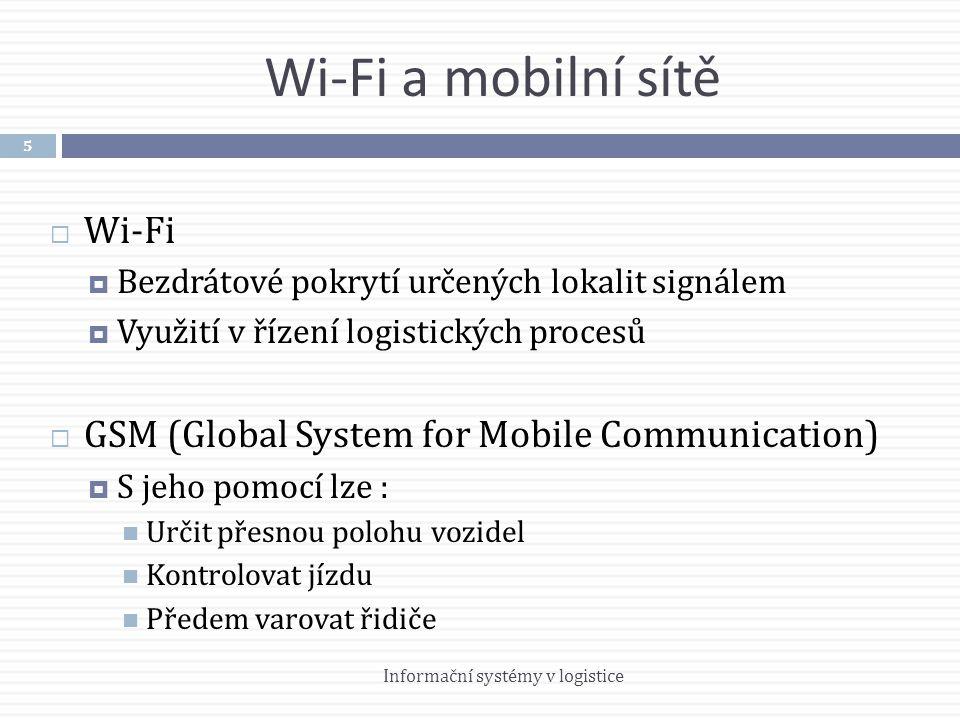 Wi-Fi a mobilní sítě Wi-Fi