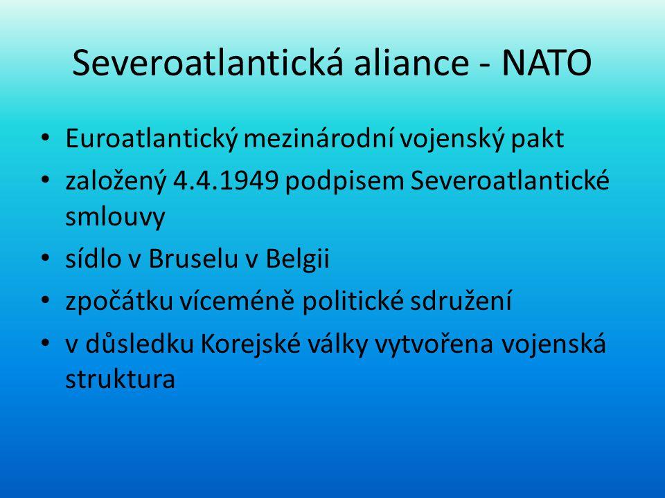 Severoatlantická aliance - NATO