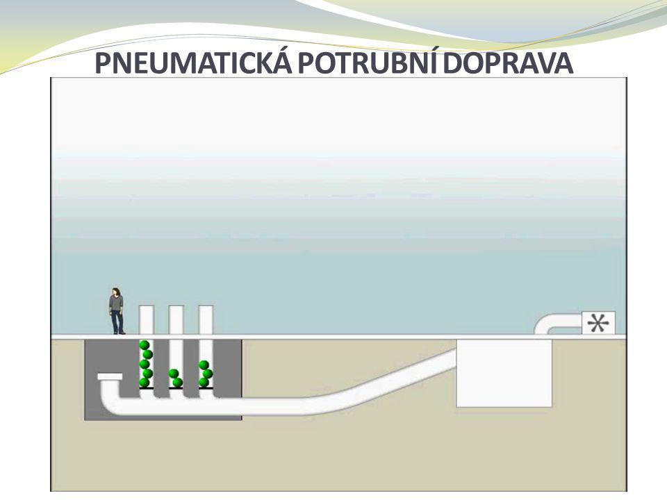 Pneumatická potrubní doprava