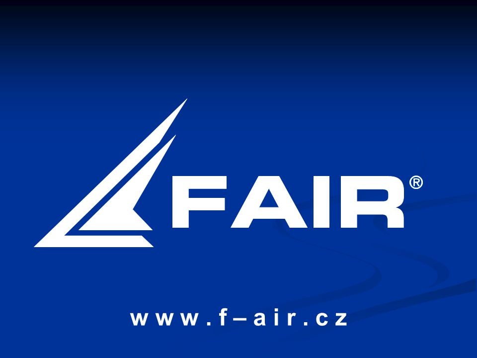 w w w . f – a i r . c z představení JÁ a PATRIK ZÁKLADNÍ údaje o F AIR