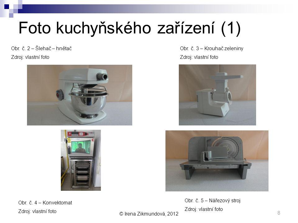 Foto kuchyňského zařízení (1)