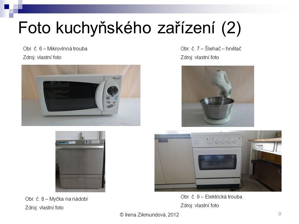 Foto kuchyňského zařízení (2)
