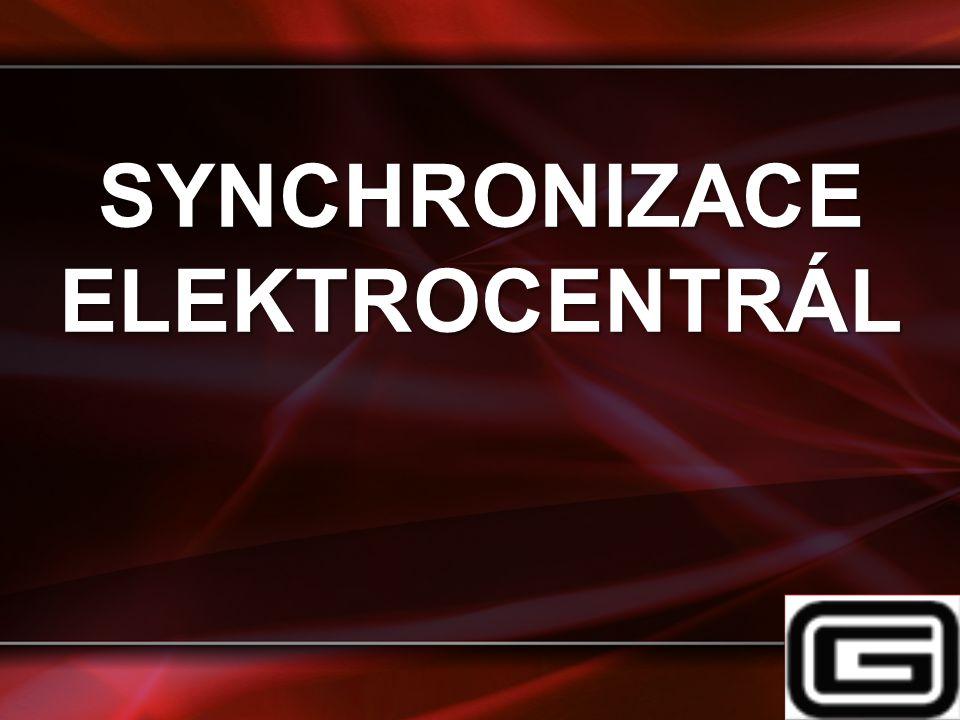 SYNCHRONIZACE ELEKTROCENTRÁL